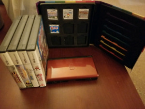 DS lite, Games and Stylus Case