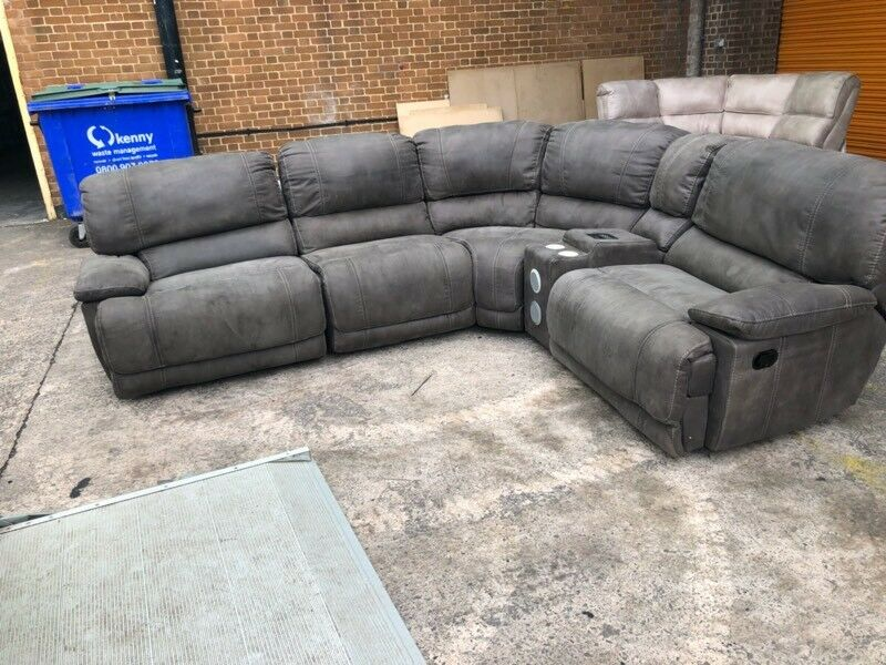Harveys Sandbridge Electric Corner Reclining Sofa X Display