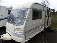 Avondale Mayfly1997 2 Berth End Kitchen Lightweight Touring Caravan