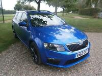 2013 Skoda Octavia 2.0 TDI CR vRS 5dr DSG AUTOMATIC 5 door Estate