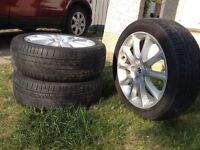 Rims and tires good shape $450 OBO