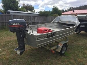 Savage Aluminium 13ft Dinghy Warrane Clarence Area Preview