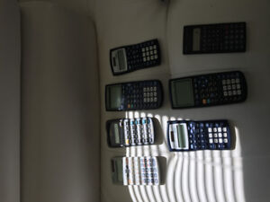 Different calculators
