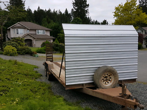 20' Trailer with 7000lb axles