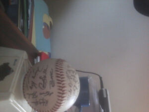 1992 Toronto Blue Jays World Series signed ball all names