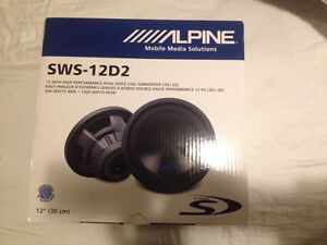 Alpine Type S - 12-Inch, 2-Ohm Subwoofer