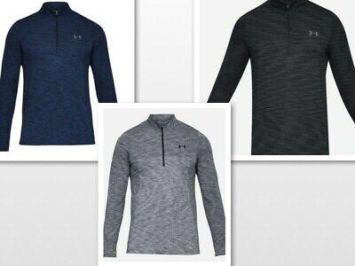 Under Armour Men UA HeatGear Vanish Seemless 1/2 Zip LS Shirt 1325632 Colors -