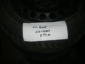 VW Passat snow tires