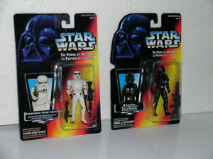 Star Wars Red Card Power of the Force figures Kitchener / Waterloo Kitchener Area image 1