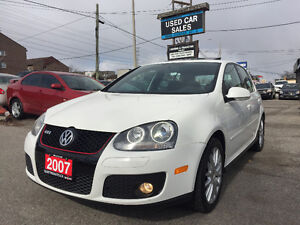 *LOW KMS*CERTIFIED*2007 Volkswagen GTI NEW GTI Sedan