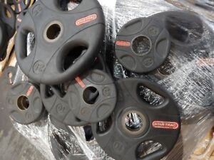 Star Trac Commercial Rubber Coated Olympic Plates