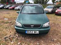 Vauxhall/Opel Zafira 2.0DTi 16v 2002MY Elegance