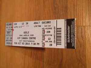 2 Adele tickets Oct 3rd @ ACC in Toronto