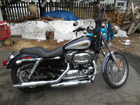 Harley Davidson  XL1200C  Sportster  Very Low Kms.!!!