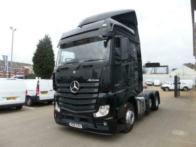 6115726818 2016 Mercedse Benz Actros 2545 LS VLA 6x2 2 22.5