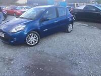 2010 Renault Clio 1.2T Dynamique Tom Tom 3 MONTHS WARRANTY MOT AUGUST 19