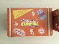 The Carry On Films Complete Collection with Collectible Storage/Carry Boxes