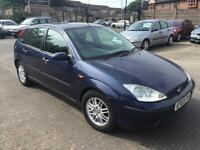 2003 Ford Focus 1.8 TDdi LX Hatchback 5dr Diesel Manual (sun roof) (143 g/km, 89