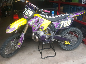 PRICED FOR QUICK SALE!! 2008 RM 250 REDONE AND READY TO RIDE!