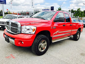 2008 DODGE RAM 2500 LARAMIE CREW CAB CUMMINS DIESEL 4X4 LONG BOX