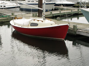 Nordica 16 sailboat--Very Good Condition