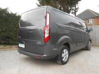 Ford Transit Custom 290 Limited Lwb Van 2.0 130ps Turbo Diesel Euro 6