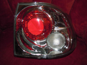 1996 - 1998 Honda Civic 4 Door Sonar Tail Light Set