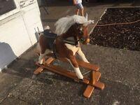 Mj Mark rocking horse