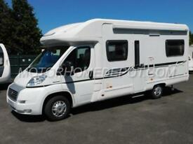 Bessacarr E450, 2012 Fiat 2.2D, 4 Berth, Fixed Rear Bed, 17k MIles, 12 Month WTY