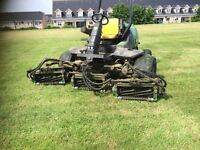 John Deere gang mower