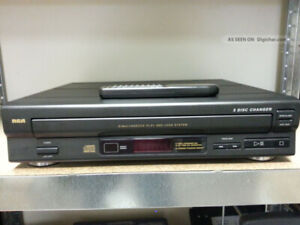 5 CD player/changer RCA with remote control & manual good shape
