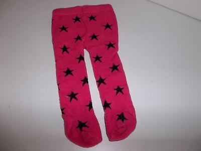 Hot Pink Tights with Stars made for 18