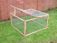 Brand new rabbit and guinea pig run - 4 foot X 4 foot X 2 foot - perfect size