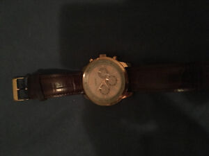 Rose Gold guess watch, barely worn
