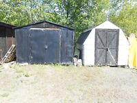 Sheds to give away
