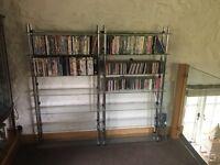 DVD & CD shelves