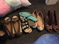 Huge bundle of shoes, clothes and accessories