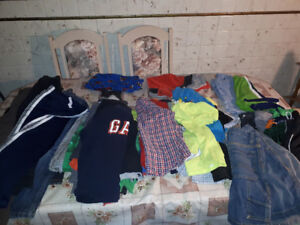 Huge lot of boys clothes size 7