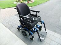 Electric Wheelchair, Storm TDX SP