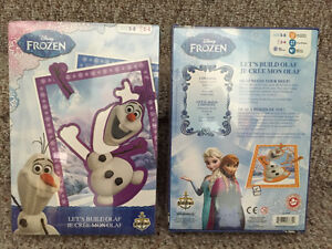 Disney Frozen Lets Build Olaf game Reduced!