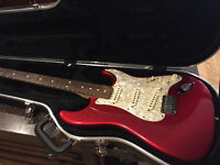 2001 American Standard Stratocaster HARDTAIL w/OHSC