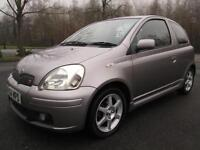 TOYOTA YARIS 1.5 VVT-i T SPORT 3DR HATCH IN MET GREY WITH SERVICE HISTORY