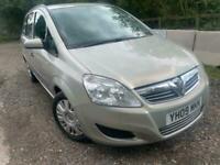2009 Vauxhall Zafira 1.6 i 16v Life 5dr MPV Petrol Manual