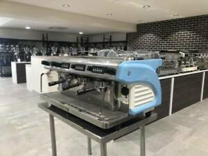 Second Hand 3 Group Expobar Rugerro Commercial Coffee Machine Roselands Canterbury Area Preview