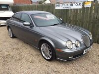 Jaguar s type 3.0 sport automatic 53 reg immaculate condition leather service history