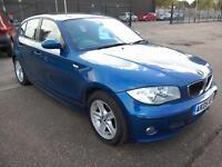 2005 BMW 116 1.6i Sport 74K Blue 5Dr Alloys Climate P/Sensors VGC