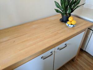 $225 Beautiful kitchen island / butchers block / cutting station