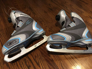 Reebok BOA Figure Skates Womens Size 7 - Sharpened