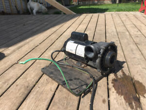 Hot tub pump-2.5 hp