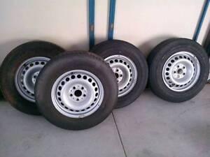 Volkswagen Amorok wheels Redcliffe Redcliffe Area Preview